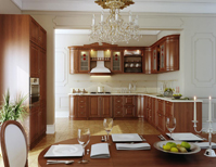 Modular Kitchen cabinet setup design