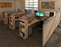 workstation design office interiors